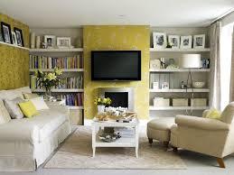 interior design stylish yellow living room design with white