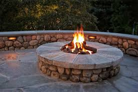 cs construction outdoor fire pits and fireplaces