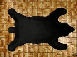 15 best bear skin rug faux images on pinterest black forest