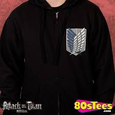 attack on titan survey corps hoodie attack on titan mens hoodies
