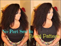 u part sew in weave braid patterns patterns kid