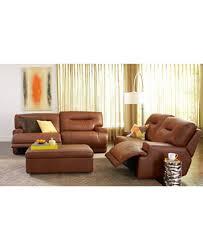 Ricardo Leather Sofa Living Room Furniture Collection Power - Ricardo leather reclining sofa