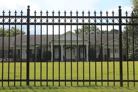 aluminum decorative fence with decorative metal fencing decorative