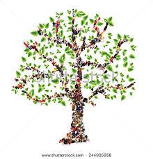 family tree form tree family stock illustration 244905958