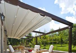 Electric Awning For House Automatic Retractable Awnings Retractable Awningore From Solair