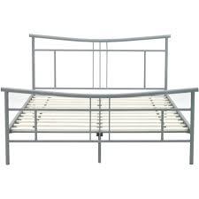 bed frames black metal bed frame ikea pia queen metal platform