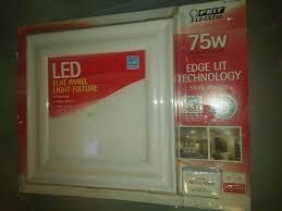 Costco Led Light Fixture Led Flat Panel Light Fixture Amazon Com