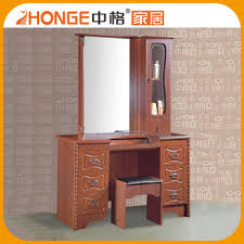 2017 fashion modern designs good quality simple dressing table for