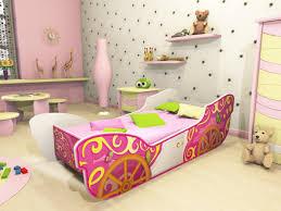 bedroom mesmerizing princess carriage bed for kids bedroom design