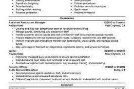 Hospitality Sample Resume by Hotel Manager Resume Objective Sample Hotel Housekeeper Resume