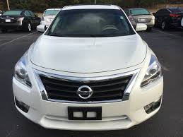 nissan altima 2015 pearl white 15 altima sl technology package pearl white tan leather nissan of