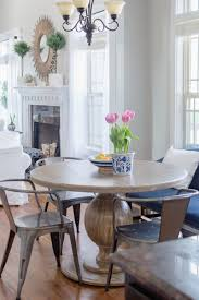 World Market Dining Room Table by Breakfast Nook Update With Round Farmhouse Table The Home I Create