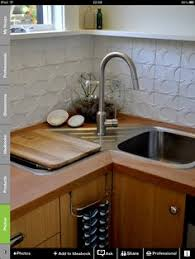 Sink Designs Kitchen A Better Corner Kitchen Sink Great Idea Save Space Of Corners