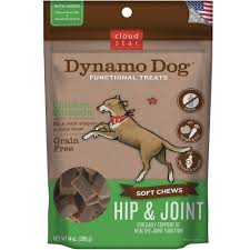 cloud star dynamo dog functional treats hip u0026 joint chicken 5 oz