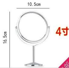 Cermin Dua Sisi harga penawaran logam kecil desktop yang pembesar cermin dua sisi
