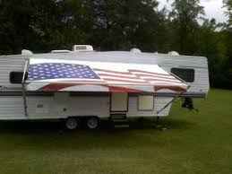 Camper Awnings Replacement Fabric Rv Awnings Read This Before Buying One Rvshare Com