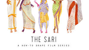 How To Draping The Sari A How To Drape Film Series By Border U0026fall U2014 Kickstarter