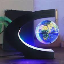 aliexpress com buy led floating globe home decoration magnetic