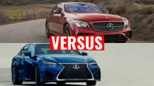 lexus vs bmw depreciation 2017 mercedes e class vs lexus gs youtube