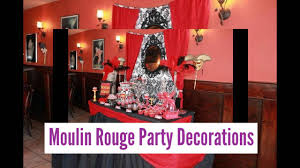 moulin rouge party decorations youtube
