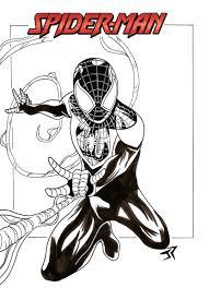 sketch ultimate spiderman by jonathanpiccini jp on deviantart