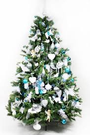 Christmas Decorations Light Blue by Blue Christmas Tree Decorating Ideas Adding Cool Elegance To