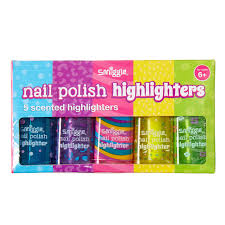 nail polish highlighter x5 pack smiggle