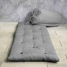Matelas D Appoint Futon Karup Matelas D Appoint Bed In Bag 70 X 190 Cm Gris Matelas