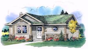 ranch style house plans vaulted ceilings youtube