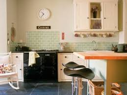 aga cuisine traditional kitchen with green tile backsplash also white cabinetry