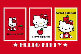 hello kitty and sanrio printable picture postcards 6 u2033 x 4