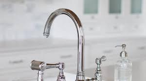 bridge kitchen faucet douglass bridge kitchen faucet cross handles popular faucets for