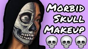 Skeleton Halloween Makeup by Death Happens Makeup Skeleton Halloween Makeup Tutorial