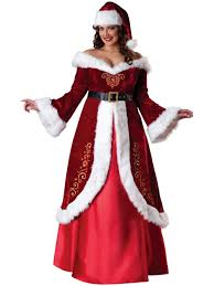 ladies premium mrs claus costume womens costumes for christmas