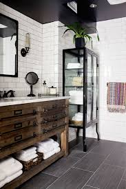 Industrial Bathroom Vanities by Adding 1000 Sq Feet Without Construction Black Grout White