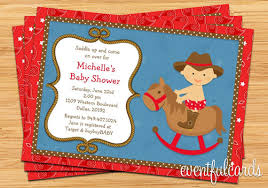 western baby shower western baby shower invitation 5x7 printable