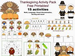 Thanksgiving Activities Toddlers 414 Best Color Thanksgiving For Children Teens U0026 Images On