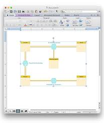 How To Make A Floor Plan On Word How To Add A Bubble Diagram To A Ms Word Document Using