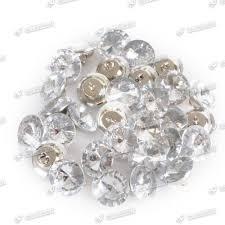 Tufting Sofa by 50 100x 20 25mm Diy Glass Rhinestone Diamante Buttons Tufting Sofa