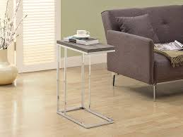 mini accent table ls amazon com monarch specialties i 3008 accent table chrome metal