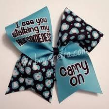sassy sayings cheer bows bowerella bows custom cheer bows