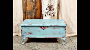 White Wood Furniture White And Blue Distressed Furniture Youtube