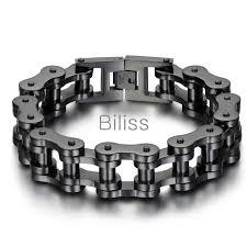 bracelet man silver stainless steel images 23cm 18mm black silver heavy wide stainless steel bracelet men jpg