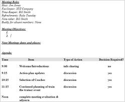 event recap template 15 best meeting agenda templates for word
