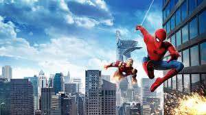 wallpaper spider man homecoming iron man hd 4k 8k movies 7851