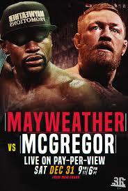 mayweather vs mcgregor poster by wweslashrocker54 on deviantart