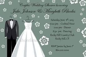 couples wedding shower invitations custom personalized couples wedding shower invitation i create