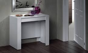 extending console dining table extending dining console table groupon goods