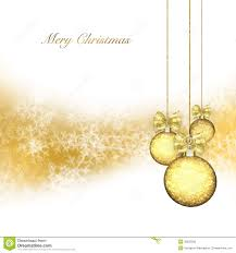 background with gold baubles stock illustration