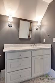 Dark Gray Bathroom Vanity by Dark Gray Bathroom Walls Design Ideas